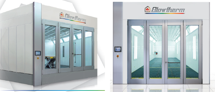 Extra Paint Booths - Industrial Spray Booths Manufacturer