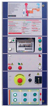 Digital control panel with latest generation microprocessor