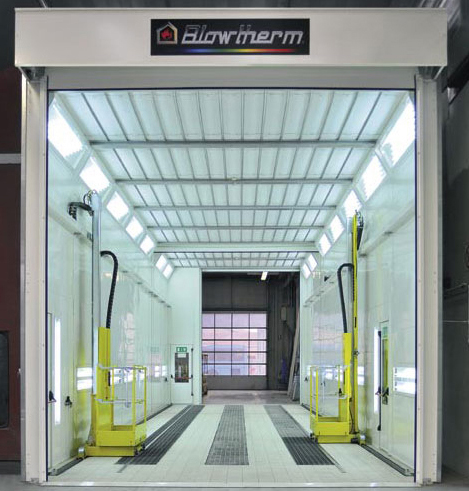 Truck Spray Booths Industrial Paint Booths Manufacturer