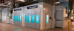 Industrial Paint Booths Spray Booth Systems Blowtherm Usa