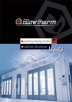 Industrial Paint Booths | Spray Booth Systems | Blowtherm USA